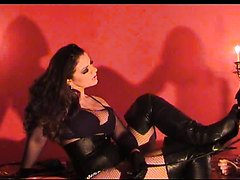 Lady Asmondena and slave