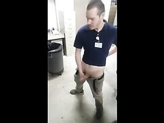 Busting at work