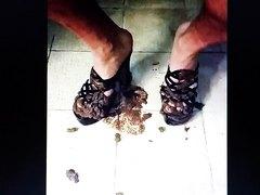 scat in high heels