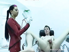 Femdom - Enema for his scat ASS