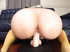 Dildo Riding w/ Squirting Ending