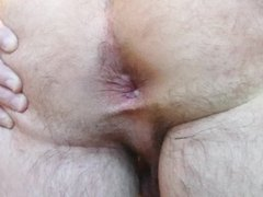 Boy's Shaved butthole