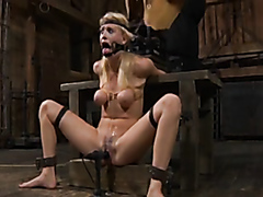 Tied up and totally destroyed