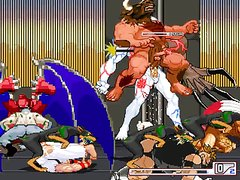 [Mugen] Ryu & Rakum Vs A Verty Horny Zombie Herd