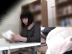 Japanese girls farting in library - Pt 4