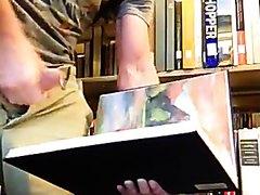 Cumming in a Library Book