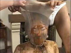 Repost of scat pantyhose encasement 6