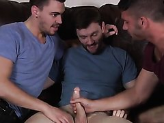 Stepsons and stepdad fuck