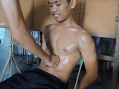 Teaser Gutpunching Danny Torture - Sixpack Training (part 2)
