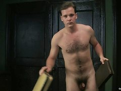 Actor Peter Sarsgaard frontal naked in Kinsey (very small cock)