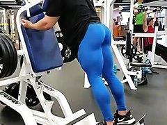 Gym Alpha with HUGE ass