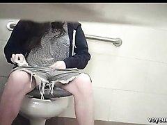 Poop voyeur