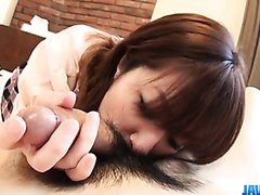 Hiromi Japanese schoolgirl enjoying hardcore sex
