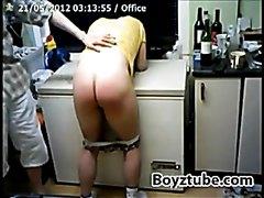 spanked boy
