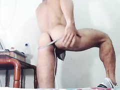 Jacobo ohmibod play in a thong