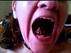 Mature eating scat