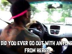 Thug Blow Job in car
