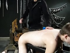 on the bench naked paddled zapped whipped