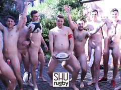 Players funny naked rugby