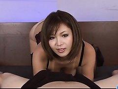 Serious POV oral scenes with superbMai Kuroki - More at j....net