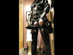 Fullrubber, waders and cum - video 2