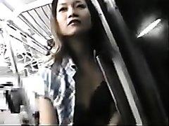 Japanese Train Masturbation