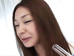 Sakura Hirota amateur babe blows a huge dick - More at j....net
