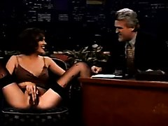 Funny video of some babe masturbating on the tonight show