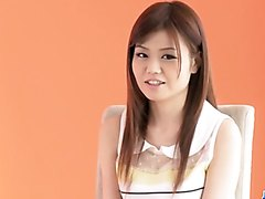 Sexy porn casting with young Asian babeNao - More at j....net
