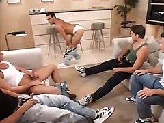Hung Men Orgy