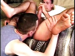 Rimming a straight guy
