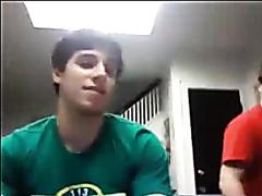 Str8 Guy Tom fools around on cam (no cum)