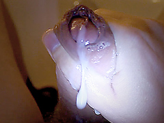 My bathtub work with happy cum final