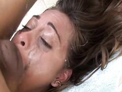 Riley Reid gets her face fucked hard
