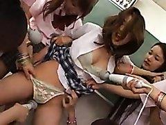 Jap Lesbian Gang War