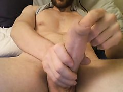 play with long foreskin