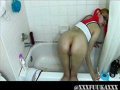 xxxFukaxxx Enema and the Diaper