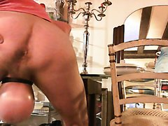 The big beautiful mother masturbates her fat pussy video! the