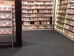 Fart in the video store