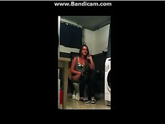 Girls pooping on the toliet - video 25