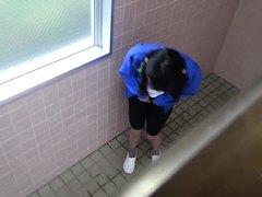 Japanese Football Girls Pee Desperation 1