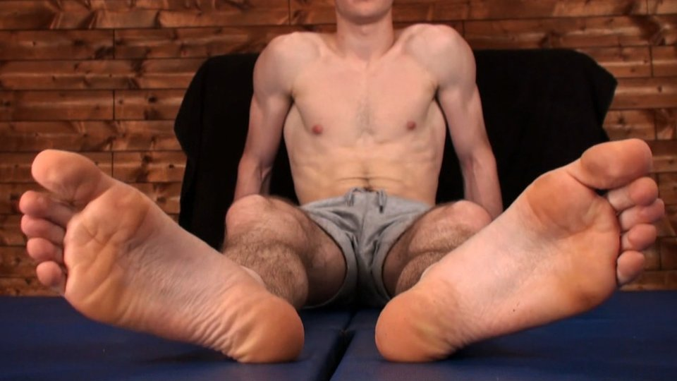 Hairy legs great soles