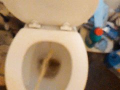 Toilet piss - video 3