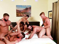 Six Guy Orgy