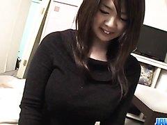 BustyAika Sawawatari enjoys a strong pounding - More at j....net