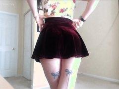 Velvet Skirt Farts