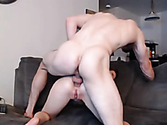Horny couple try out anal sex
