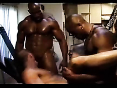 Interracial gay orgy goes hardcore