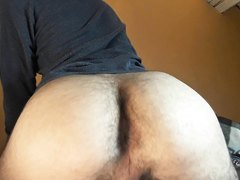 My naked ass fart