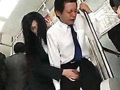 public transport jerkoff